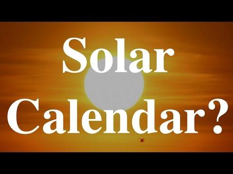 Solar Calendar?