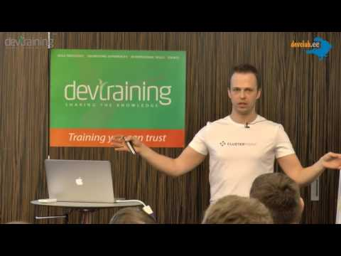 2015.04.16 [ENG] Jurģis Orups - What it takes to become a database in the Cloud - NoSQL database?