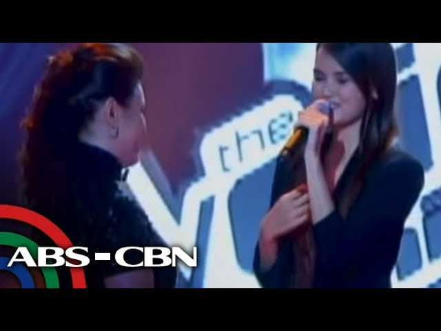 Fresh grad in dream duet with Lea on 'Voice PH' Travel Video