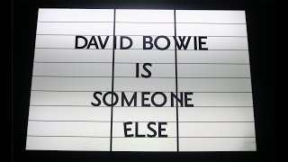 Visiting the 'David Bowie Is' Exhibition A Final Time (7-14-2018)