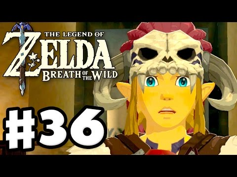 All Labyrinths! Barbarian Armor! - The Legend of Zelda: Breath of the Wild - Gameplay Part 36