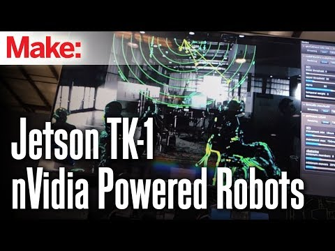 Computer vision with nVidia's new 192-core Jetson TK-1 development board