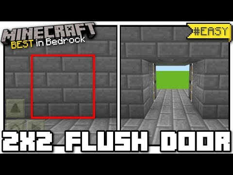 How to make a door with sticky pistons