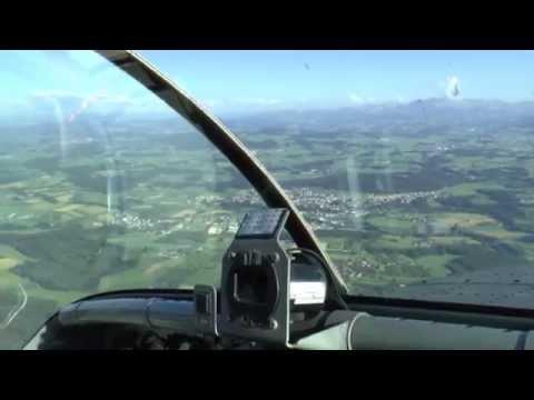 [HD] Pilatus PC-6 flight with insane nosedive from 4000m!! - 06/07/2014