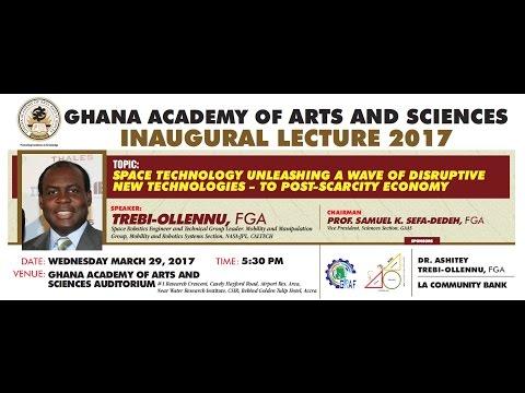 Inaugural Lecture by Dr. Ashitey Trebi-Ollennu (2017)