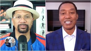 Isiah Thomas talks Pistons' rivalry with Bulls and the Michael Jordan Rules   Jalen & Jacoby