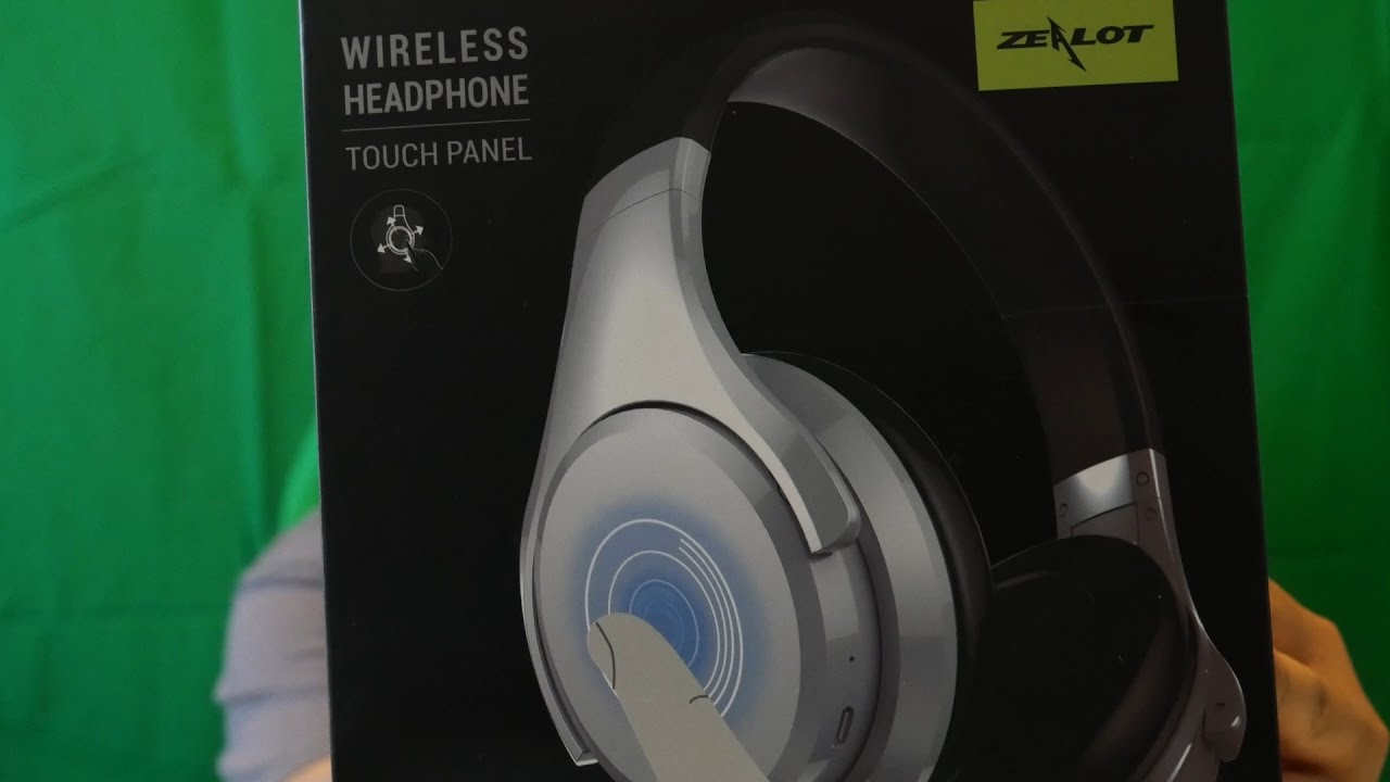 aaa7d2a249d Unboxing the Zealot B21 Wireless Headphones Quick First Impressions ...