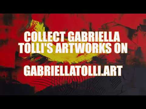MODERN ABSTRACT PAINTINGS FOR SALE : Gabriella Tolli 's Abstract Expressionism