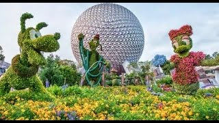 LIVE from Epcot Flower & Garden Festival with Pin Trading