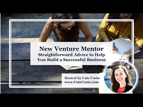 Build Your Business with New Venture Mentor from Venture Catalyst Consulting