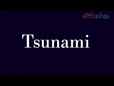 TSUNAMI (AHMED CHAWKI) SONG  LYRICS