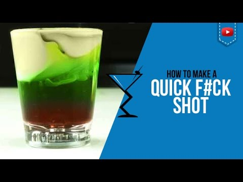 QF or Quick Fuck Shot - How to make a Quick Fuck Cocktail Recipe by Drink Lab (Popular)