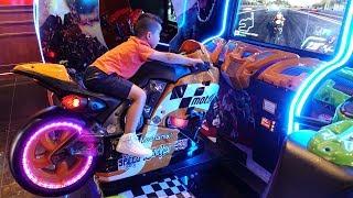 Arcade Games Skills Tester Kids Fun Racing Games Amusement Park Ckn Toys