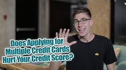 Does Applying to Multiple Credit Cards Hurt Your Credit Score? Credit Utilization Rate