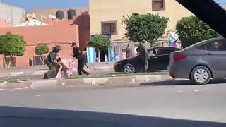 SAHARA OCCIDENTAL: Femmes Sahraouies Contre Policiers Marocains à Al AYOUNE.