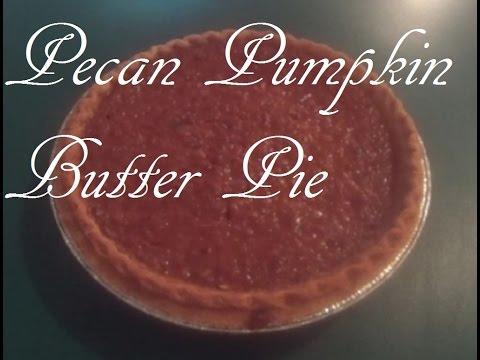 Pecan Pumpkin Butter Pie