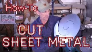 How-to Cut Sheet Metal - CaNibble