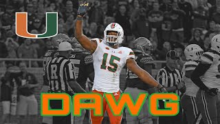 Gregory Rousseau ||DAWG|| 2019 college football highlights