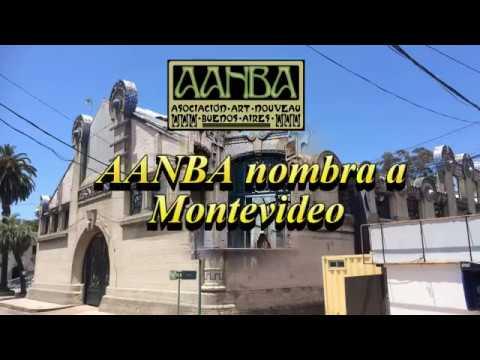 Nombramiento a Montevideo Ciudad de la Ruta Americana Art Nouveau AANBA, P. Salvo