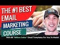 """The #1 Best Email Marketing Course With 80 """"Million Dollar"""" Email Templates For You To Model"""