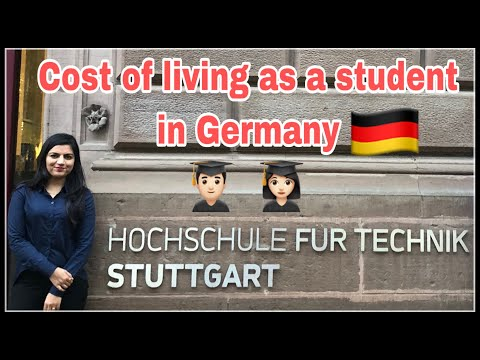 Germany Cost Of Living For A Student | Monthly Breakdown | Student Life In EUROPE | Flying Abroad