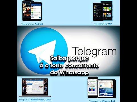 Telegram #Saiba Porque é um Forte Concorrente do Whatsapp