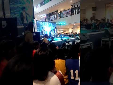 Dancing in Ayala Malls