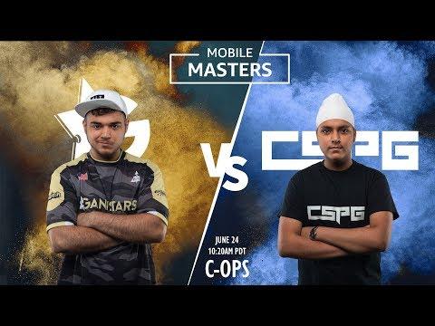 Critical Ops Semifinals: Gankstars Vs CsPG Gaming Mobile Masters LAN Tournament 2018