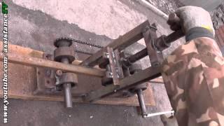 видео производство теплиц из поликарбоната