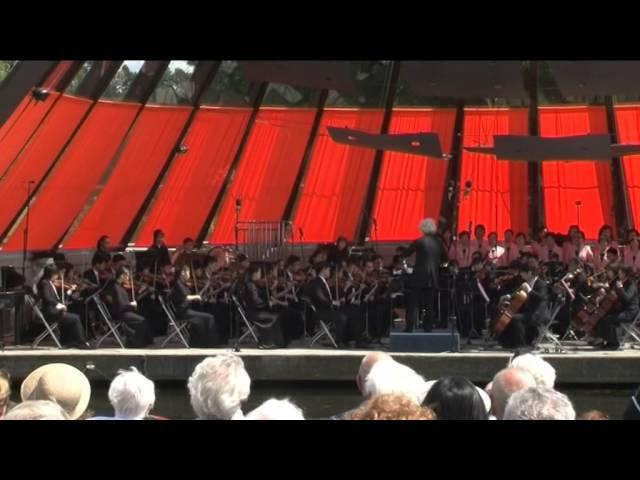 《1812 Overture》  P I Tchaikovsky  「香港青年愛樂樂團」(荷蘭鑽石國際音樂節)