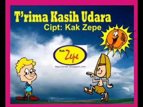 TERIMA KASIH UDARA - Lagu ANak Indonesia Karya Kak Zepe TK PAUD Usia Dini, SAIns, Ilmu Alam