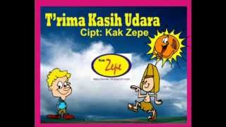 TERIMA KASIH UDARA - Lagu ANak Indonesia Karya Kak Zepe TK PAUD Usia Dini  , SAIns, Ilmu Alam Mp3