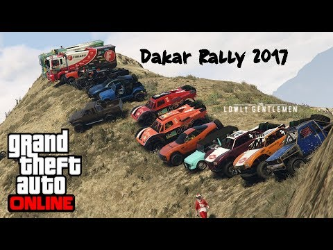 GTA 5 Online Dakar Rally 2017 Car Meet | TheLowlyGentlemen