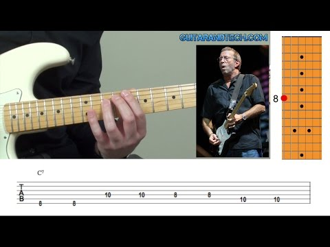 Eric Clapton - I'm Tore Down - Guitar Lesson & TAB (FREE DOWNLOAD)