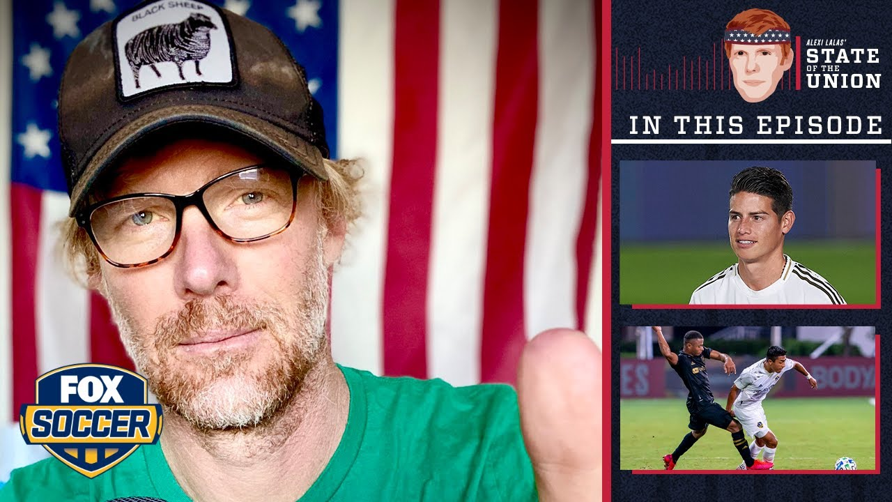 Download El Trafico, EPL, Real vs Barca, James to MLS? | EPISODE 99 | ALEXI LALAS' STATE OF THE UNION PODCAST