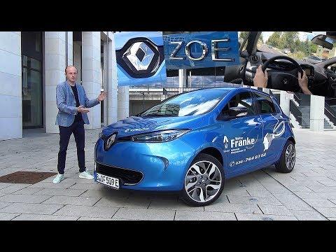 Renault ZOE im Test - Wenn Elektro, dann zoe? Review Fahrbericht Kaufberatung