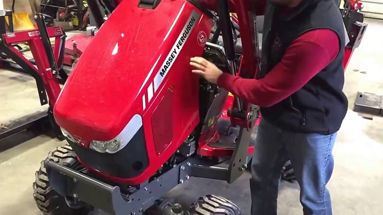 How to install a block heater to your tractor  Massey Ferguson GC series1  YouTube