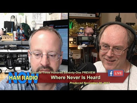 HRN 371 PREVIEW: Where Never Is Heard, on HamRadioNow