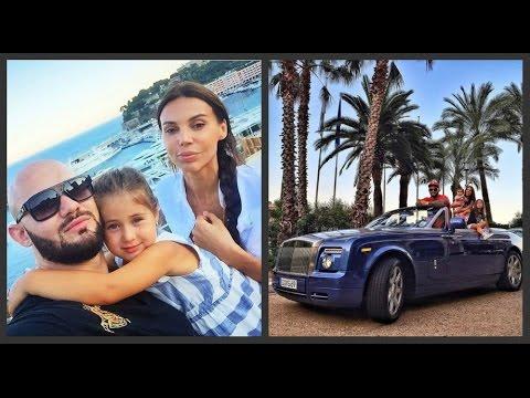 Джиган и Оксана Самойлова с дочерьми отдыхают в Монако