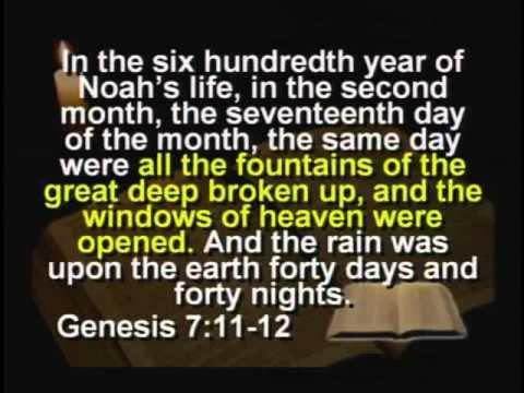 Theories About Biblical Flood, Noah