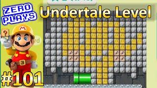 Undertale Level (Mercy or Genocide?) | Super Mario Maker Part 101