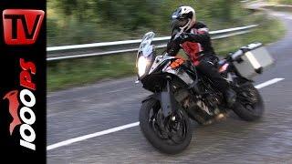KTM 1050 Adventure Test 2015 - Nordirland Motorradreise