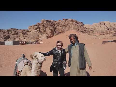 Travel to Jordan, Part III, Wadi Rum and Desert Castles (2017)