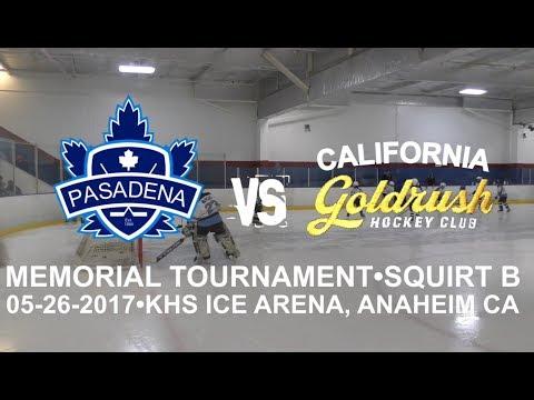 Pasadena Maple Leafs vs California Goldrush. Squirt Travel B (05-26-2017)