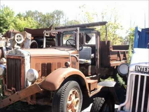 Antique truck collection, Greigsville N.Y.