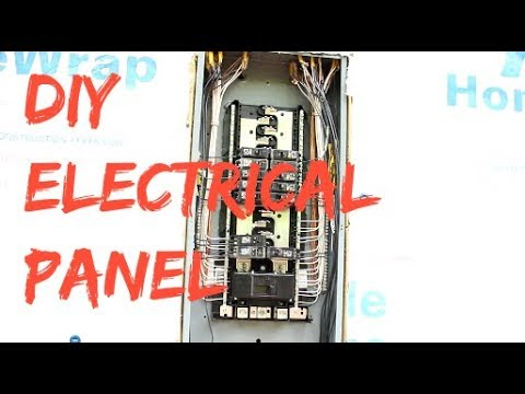 DIY Home Build: How To Wire An Electrical Panel (Square-D)
