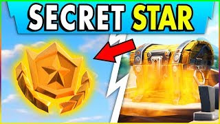 Fortnite SECRET BATTLE STAR LOCATION Week 2! Fast Loot Lake Chests- Road Trip Week 2 Challenge Guide
