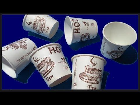 Teaching aid from paper cup. Number cards from 1 to 10.चाय के कप से बनाइए शैक्षणिक साहित्य 1  से 10