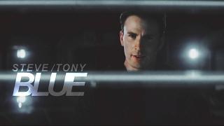 steve & tony | B L U E