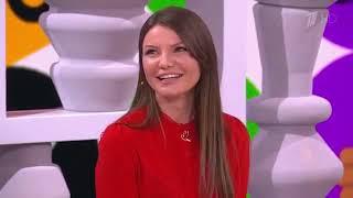 Виктория Черенцова в программе Видели видео на Первом канале.